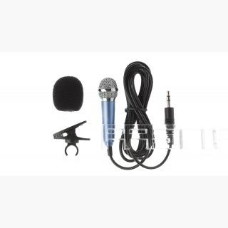 Mini Lavalier Wired Condenser Microphone for Android / iOS