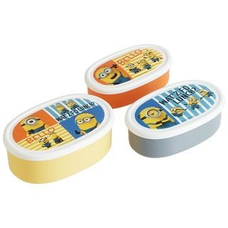 Minions Seal Food Container Set (3 Pieces)