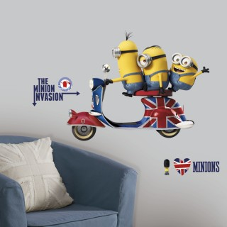 Minions The Movie Giant Wall Decals