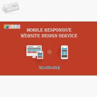 Mobile responsive website design Houston
