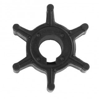 Motorcycle Outboard Water Pump Impeller 6L5-44352-00 Black for Yamaha