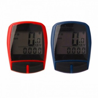 Multifunctional XC Shell Wired Cycling Bike Bicycle Computer Odometer Pedometer Backlight Design Bic