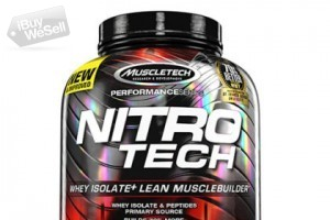 Muscletech Nitrotech Performance Series Cookies & Cream, 3.97 Pounds