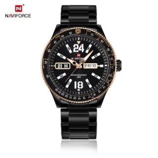 NAVIFORCE Fashion Casual Luxury Watch 3ATM Water-resistant Quartz Watch Luminous Men Wristwatches Ma