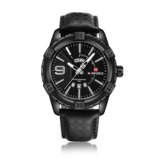 NAVIFORCE Fashion Causal Men Watches Quartz Male Watch 3ATM Water-resistant Luminous Wristwatch Cale