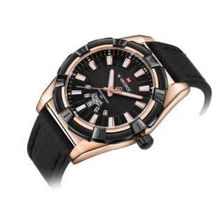 NAVIFORCE Fashion Causal Men Watches Water-resistant Luminous Wristwatch Calendar Time Display