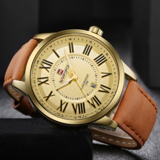 NAVIFORCE Fashion Men Watches 3ATM Water-resistant Quartz Luminous Casual Man Wristwatch Male Relogi