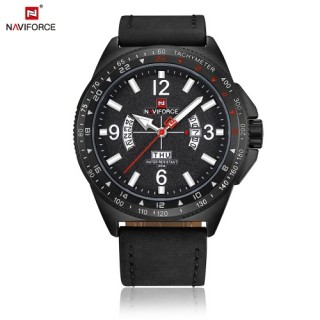 NAVIFORCE Sport Quartz Watch 3ATM Water-resistant Men Watches Luminous Military Wristwatch Male Cale