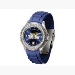 NCAA Toledo Rockets Ladies' Sparkle Watch