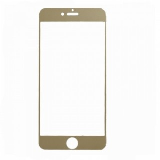 Nano Tempered Glass Screen Film for iPhone 6 Plus / 6S Plus Golden
