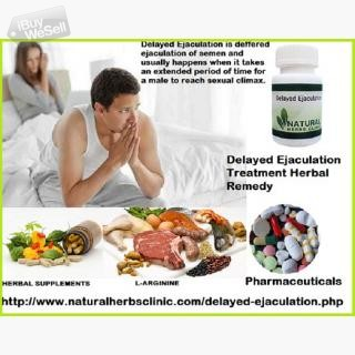 Natural Treatment Remedy for Delayed Ejaculation