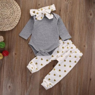 Newbabychic Cool Baby Patterns Outfits Infant Clothing (0-24month)