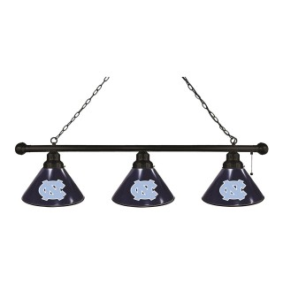 North Carolina 3 Shade Billiard Light