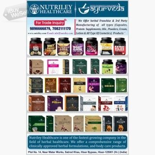 Nutriley Healthcare | Product Range | Medicare News