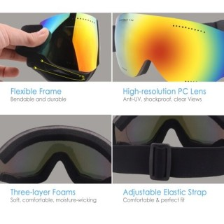 OGT UV Protection Ski Goggles