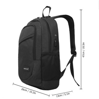 OMOBOI 18L Polyester Casual Laptop Backpack