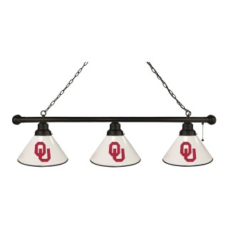 Oklahoma 3 Shade Billiard Light