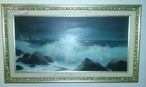 Original  C.A. Weidenaar Painting  on Canvas