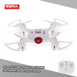 Original Syma X21 Barometer Set Height 3D Flip RC Quadcopter Drone