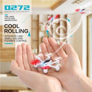 Original WLtoys Tracker Q272 2.4GHz 4CH 6-axis Gyro Mini RC Hexacopter RTF Drone with 3D Flips Headl