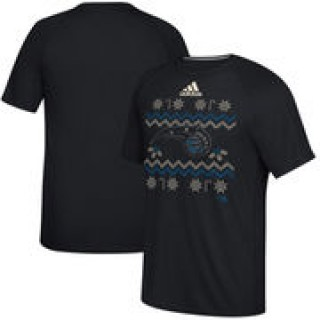 Orlando Magic adidas 2016 Christmas Day climalite Ultimate T-Shirt - Black
