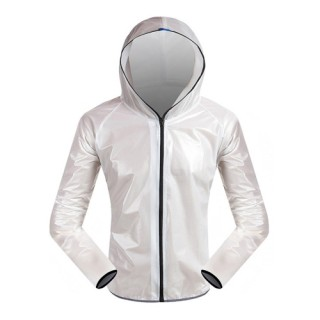 Outdoors Bicycle Rain-proof Coat Waterproof Wearable Cycling Jacket Windproof Comfortable Bicycle Cl