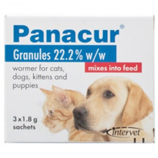 Panacur Granules 1.8 gm 3 PACK