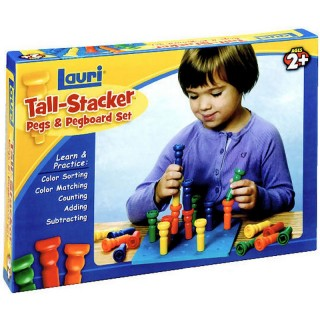 Patch Products Tall Stacker Pegs & Pegboard Set