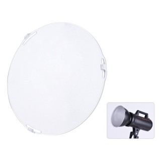 "Photo Studio Portable 18.5cm Frosted-Surface Diffuser Plate for Bowens Mount 7"" Standard Reflector L"