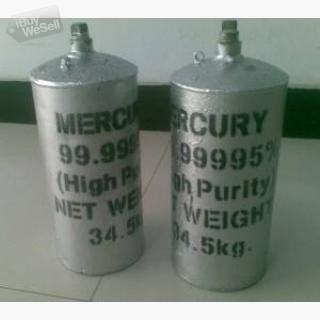 Prime Virgin Silver Liquid Mercury For Gold Mining