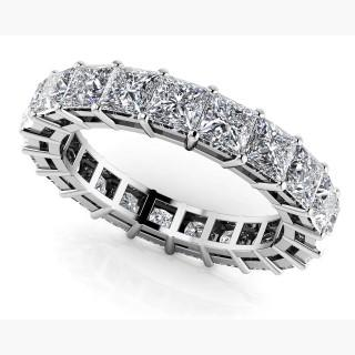 Princess Cut Diamonds Classic Eternity Ring