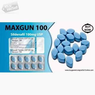 Purchase Maxgun 100mg Tablets