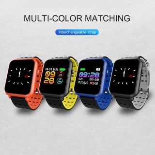 Q8mini Smart Watch Screen Smart Electronics Fashion Fitness Tracker Calorie 4.0 Bluetooth Message Pu