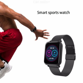 R6 Smartwatch Blood Pressure Heart Rate Fitness Tracker IP67 Waterproof Sport Watches For Android IO