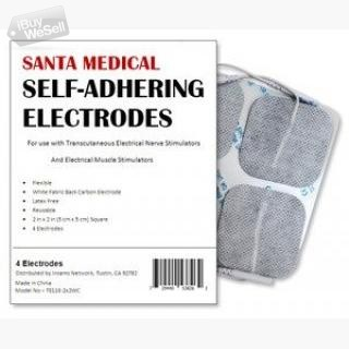 Re-Usable TENS/EMS Unit Electrode Pads with Premium Gel