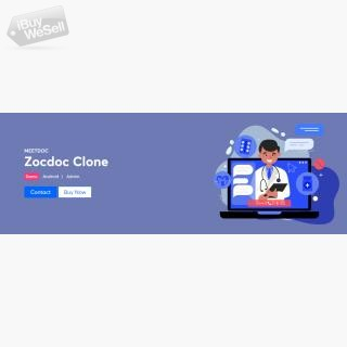 Readymade and dynamically adaptable Zocdoc clone