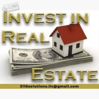 Real Opportunity to Invest in Real Estate