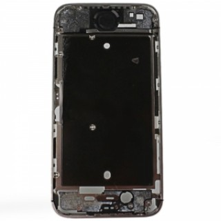 Replacement Part Aluminum Alloy Middle Housing Frame Plate Chassis Bezel for Apple iPhone 4S Black &