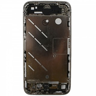 Replacement Part OEM Aluminum Alloy Middle Housing Frame Plate Chassis Bezel for Apple iPhone 4 Blac