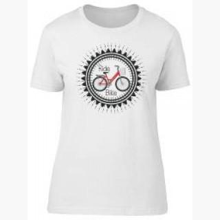 Ride Bike, Cool, Bike Lovers Tee Women's -Image by Shutterstock