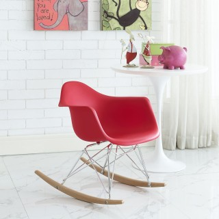 Rocker Kids Chair in Red