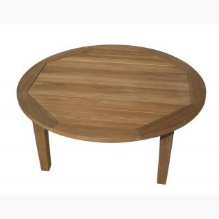 Royal Teak MIAT42R Miami Sofa Table Round, MIAT42R