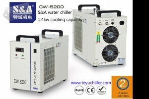 S&A industrial chiller CW-5200 for embroidery laser machine
