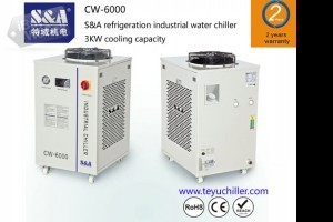 S&A water chillers for Spot Welding application with 2 years warranty