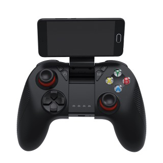 SHINECON G04 Wireless Bluetooth Gamepad Joystick Game Handle for Android iOS (With Phone Clamp)