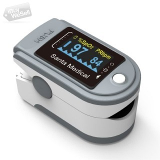 Santamedical SM-165 Finger Pulse Oximeter Available on Walmart