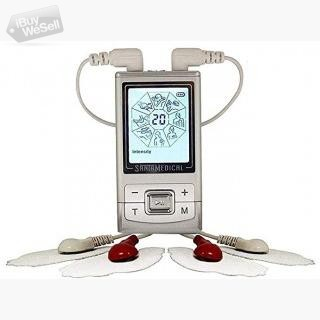 Santamedical Tens Unit Electronic Pulse Massager with Rechargeable Battery (California ) Los Angeles