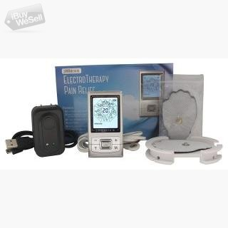 Santamedical Tens Unit Electronic Pulse Massager with Rechargeable Battery