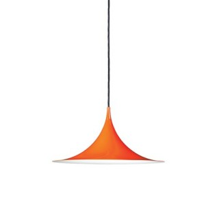 Semi Pendel Ø47 Orange Blank Semi Pendant Ø47 Glossy Orange