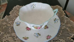Shelley Teacup and Saucer